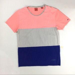 Scotch Soda colorblock men's t-shirt tee M